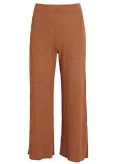 Lanston Rib Knit Straight-Leg Pants