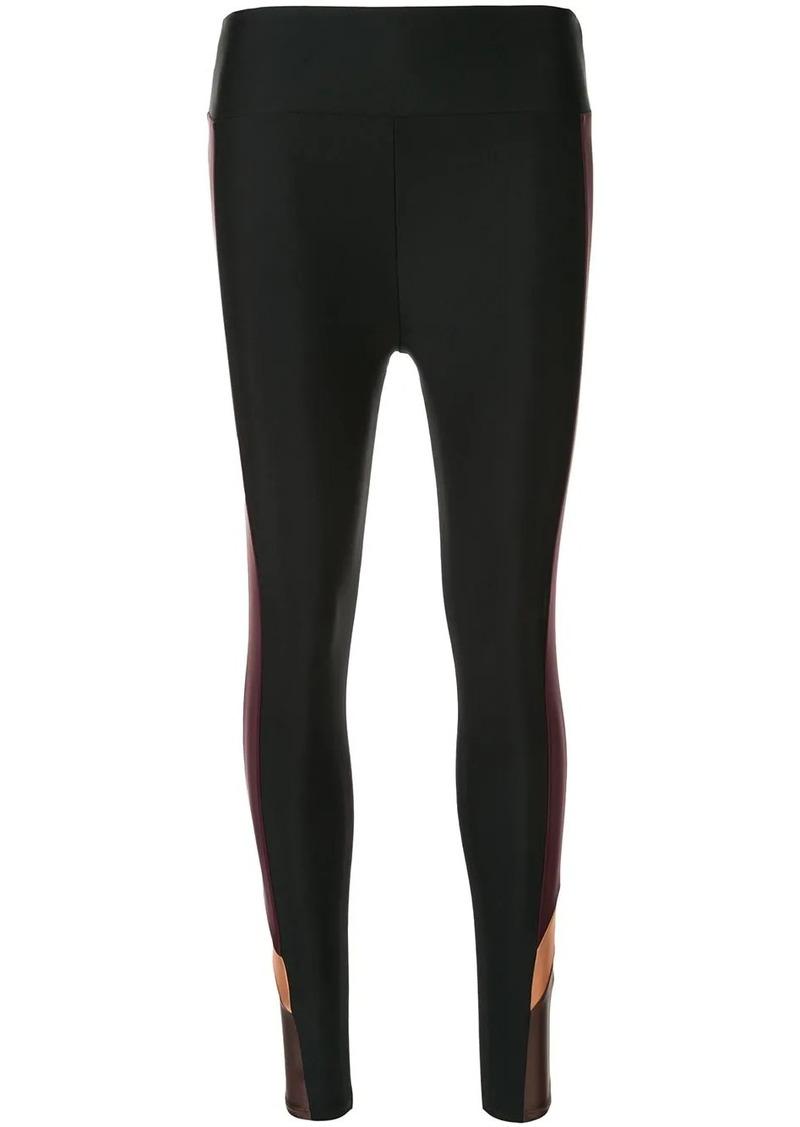 Lanston side panelled performance leggings