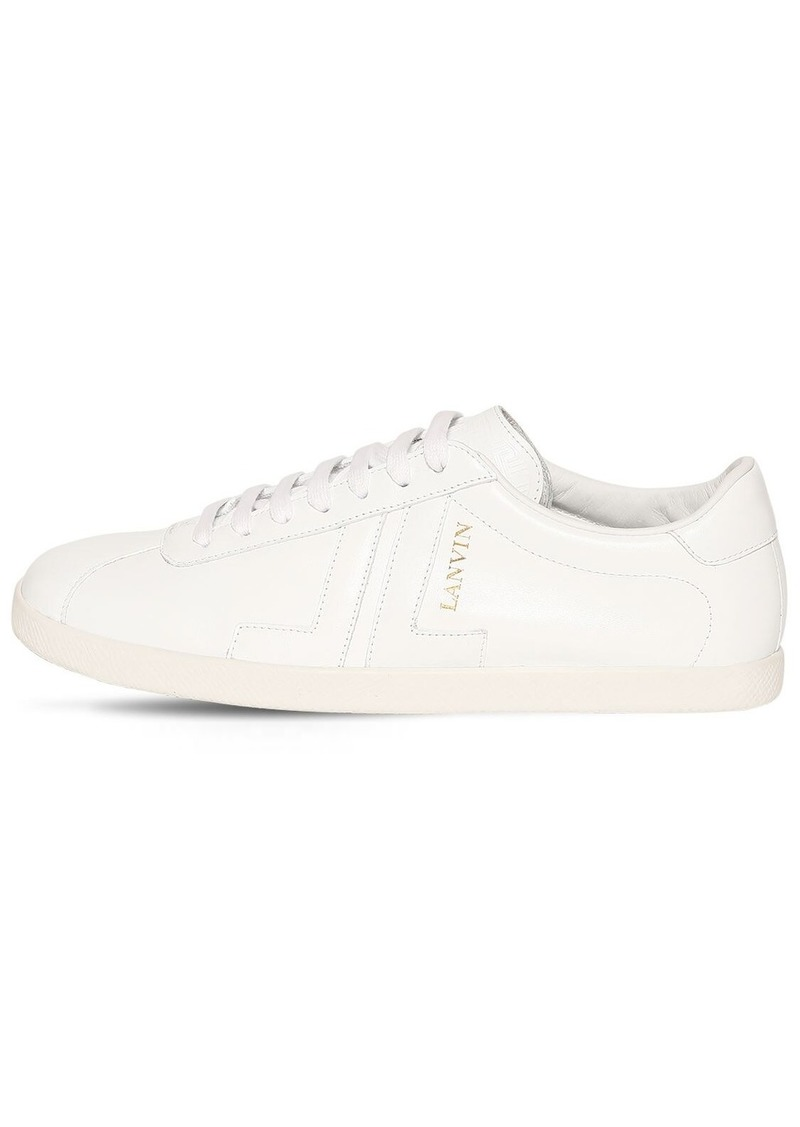 Lanvin 10mm Leather Sneakers