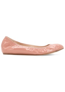 Lanvin 10mm Patent Leather Ballerina Flats