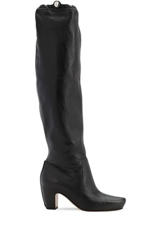 Lanvin 60mm Tall Leather Boots