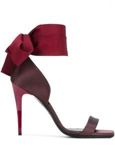 Lanvin ankle bow sandals