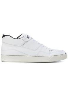 Lanvin asymmetric panelled sneakers