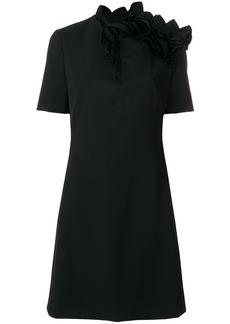 Lanvin asymmetric ruffle dress