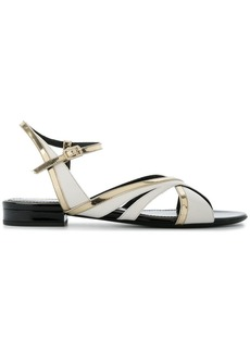 Lanvin asymmetric strappy sandals