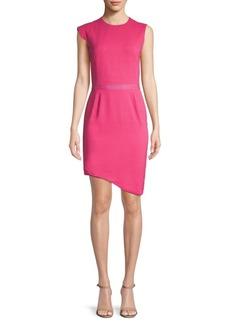 Lanvin Asymmetrical Sheath Dress