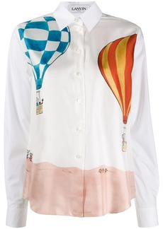 Lanvin Babar watercolour shirt