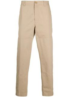 Lanvin straight-leg cotton trousers