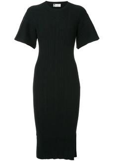 Lanvin bell sleeve midi dress