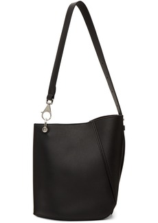 Lanvin Black Asymmetrical Bucket Bag