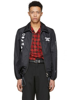 Lanvin Black Symbols Jacket