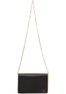 Lanvin Black Wallet Chain Bag
