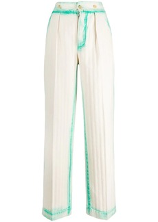 Lanvin bleached loose trousers