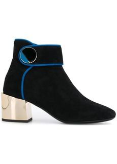 Lanvin block heel ankle boots