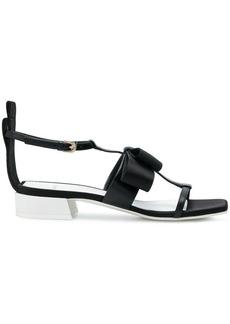 Lanvin bow detail sandals