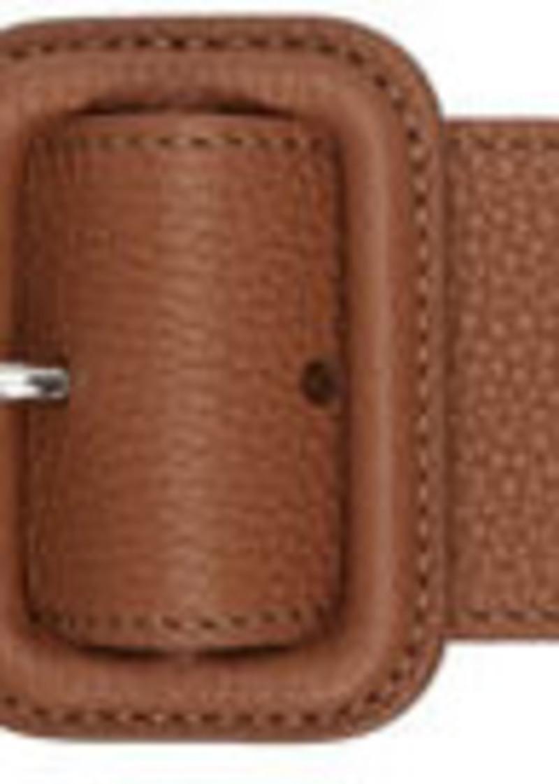 Lanvin Brown Trench Belt