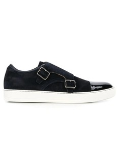 Lanvin buckled strap sneakers