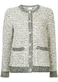 Lanvin buttoned bouclé cardigan