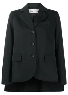 Lanvin cape style blazer jacket