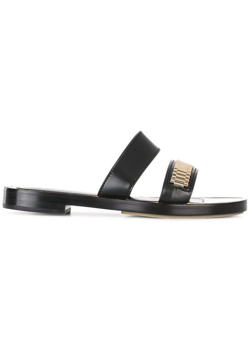 Lanvin chain detail strap sandals