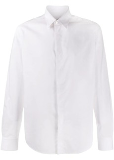 Lanvin concealed placket shirt