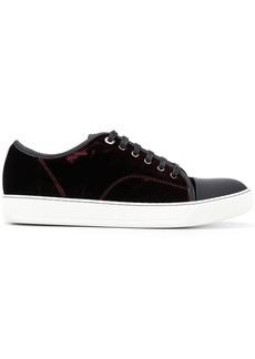 Lanvin contrasting toe cap sneakers