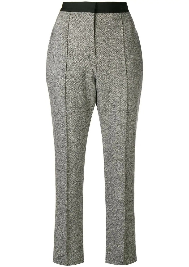 Lanvin cropped high waisted trousers