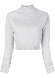 Lanvin cropped knitted jumper