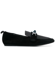 Lanvin crystal embellished loafers