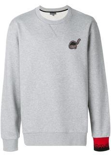 Lanvin Dino patch sweatshirt
