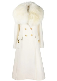 Lanvin double-breasted mid-length coat