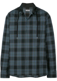 Lanvin drawstring collar boxy shirt
