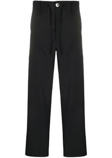 Lanvin drawstring wool trousers