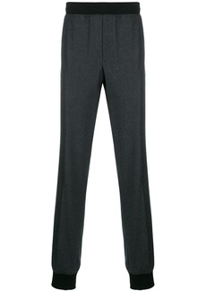 Lanvin elasticated waist track pants