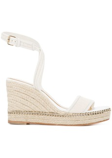Lanvin espadrille wedge sandals
