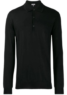 Lanvin fine knit polo shirt