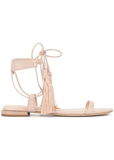Lanvin flat tassel sandals