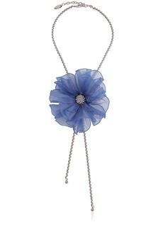 Lanvin Flower Chain Choker
