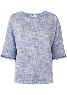 Lanvin fringed detailed blouse