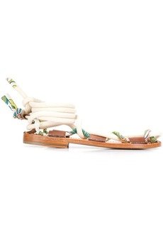 Lanvin Full Sun flat sandals