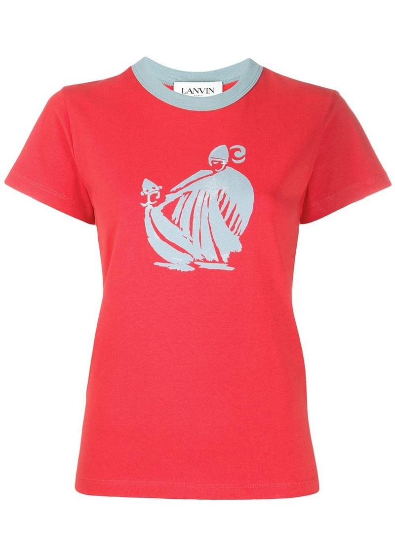 Lanvin graphic print T-shirt