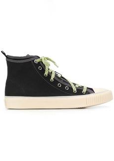 58191f37200 Lanvin Lanvin Elasticated-front leather derby shoes