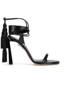 Lanvin high-heeled tassel sandals