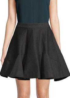 Lanvin High-Rise Flared Skirt