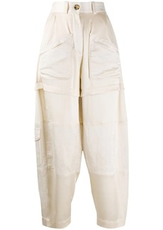 Lanvin high-waisted tapered trousers