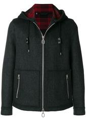 Lanvin hooded zipped jacket