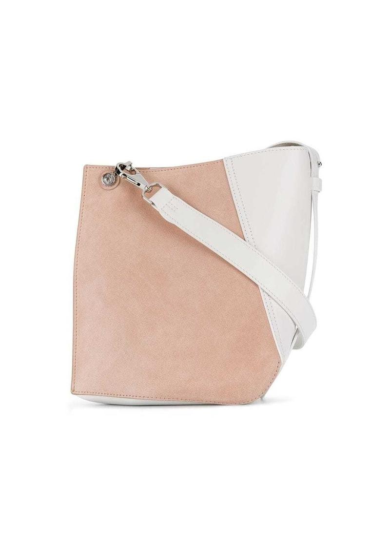 Lanvin Hook S asymmetric bucket bag