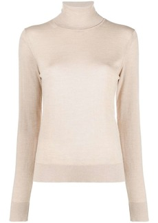 Lanvin knitted roll-neck jumper