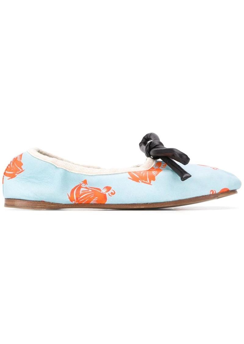 Lanvin La Mère et l'Enfant ballerina shoes