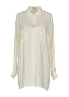 LANVIN - Solid color shirts & blouses